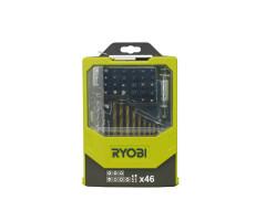Набор сверел и бит 46 предметов Ryobi RAK46MiX