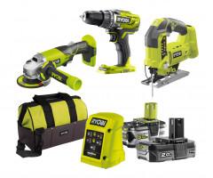 Набор инструментов Ryobi R18AGJS3-252S ONE+