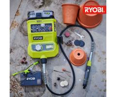 Гравер аккумуляторный Ryobi R18RT-0 ONE+