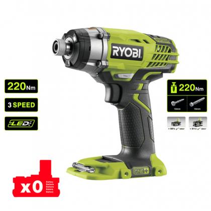 Винтоверт ударный аккумуляторный Ryobi R18ID3-0 ONE+