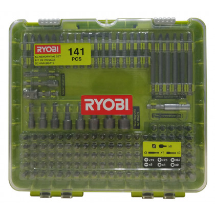 Набор бит 141 предмет Ryobi RAKD141