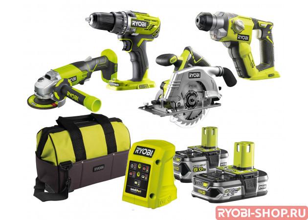 R18DDAG4-525S ONE+ 5133003719 в фирменном магазине Ryobi