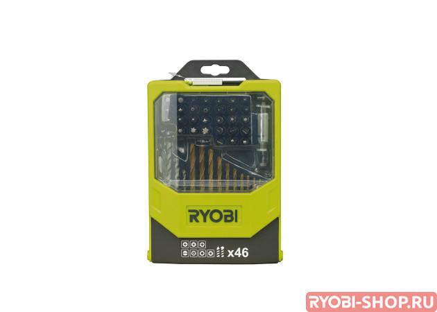 Набор сверл и бит 46 предметов Ryobi RAK46MiX