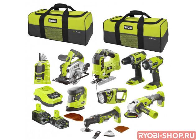 R18CK9-LL525S ONE + 5133002777 в фирменном магазине Ryobi