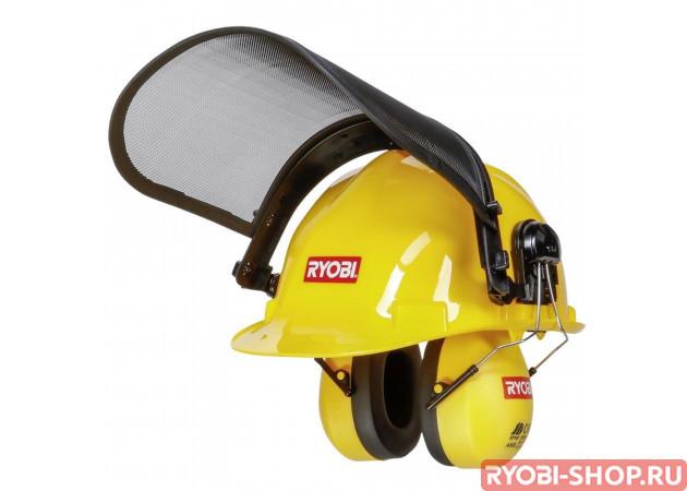 Шлем с защитой и наушниками Ryobi ACC008
