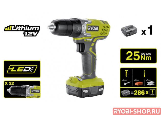 R12SD-L13S 5133002322 в фирменном магазине Ryobi
